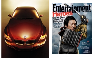 BMW for GQ and Masi for Entertainment Weekly