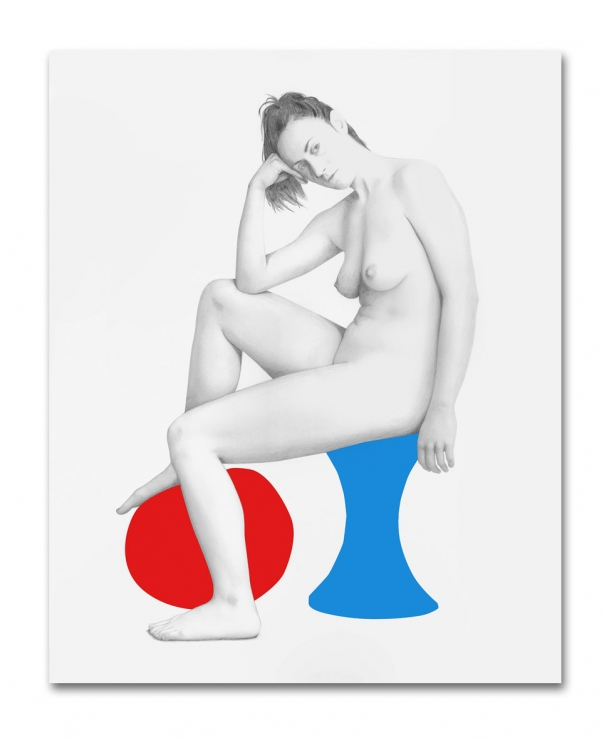 Seated Nude with Ball